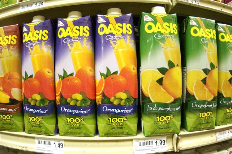Lassonde commercialise notamment les jus Oasis.... (Photo: André Tremblay, La Presse)