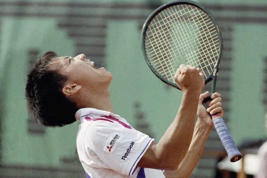 Michael Chang... (Photo: AP)