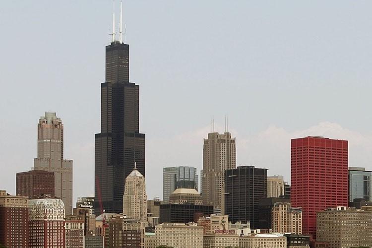 La Tour Sears à Chicago... (Photo: AP)