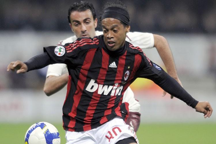 Ronaldinho... (Photo: AFP)