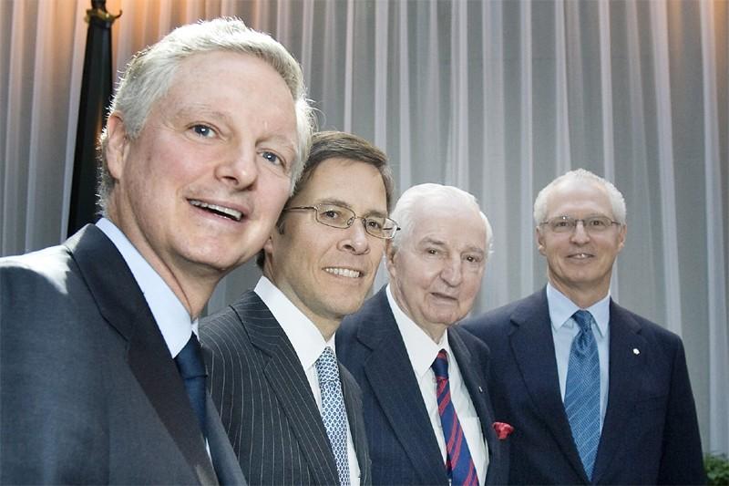 Paul Desmarais, jr, président du conseil et co-chef... (Photo Paul Chiasson, La Presse Canadienne)
