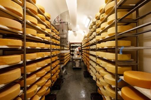 La laiterie Charlevoix, où l'onfabrique le fromage 1608... (Photo: Martin Chamberland, La Presse)