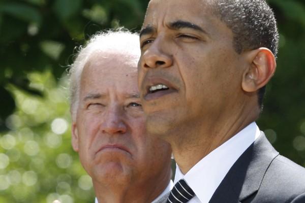Barack Obama et Joe Biden... (Photo: Reuters)