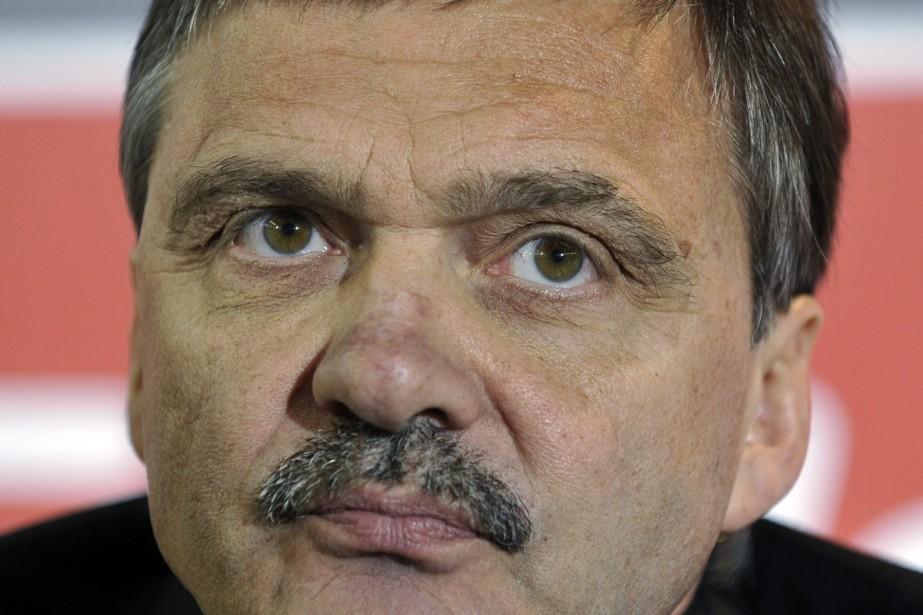 Le président de la Fédération internationale de hockey... (Photo: AP)