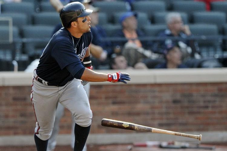 Martin Prado a claqué un circuit en 12e... (Photo: Reuters)