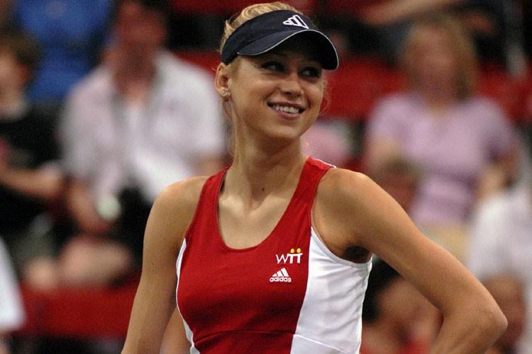 Anna Kournikova... (Photo: AP)
