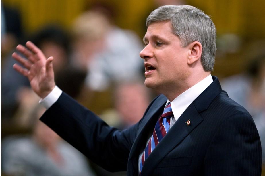 Le premier ministre Stephen Harper juge... (Photo La Presse Canadienne)
