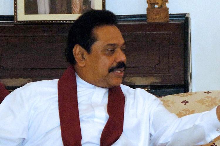Le président sri lankais, Mahinda Rajapakse.... (Photo: AFP)