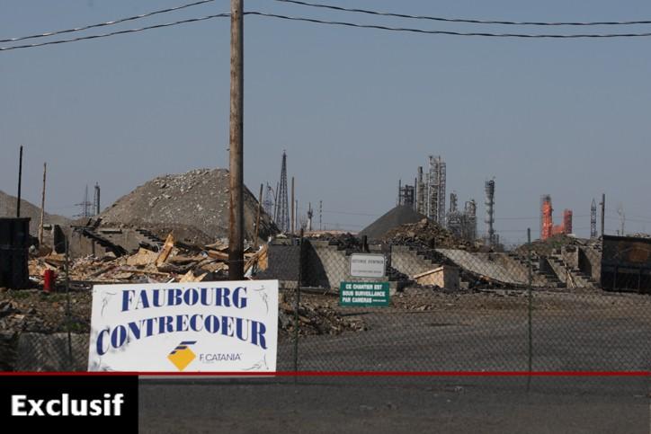 Les ruines du Faubourg Contrecoeur.... (Photo: Martin Chamberland, La Presse)