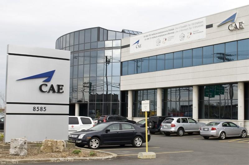 Les bureaux de CAE à Montréal.... (Photo Paul Chiasson, La Presse Canadienne)