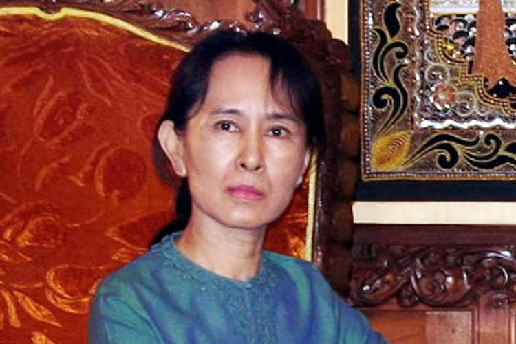 Aung San Suu Kyi... (Photo: AFP)