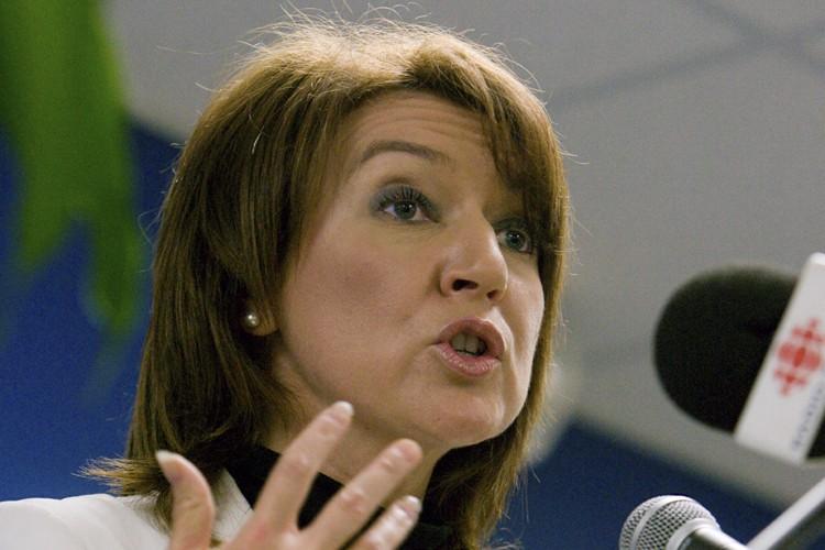 La ministre des Affaires municipales, Nathalie Normandeau.... (Photo: André Tremblay, La Presse)