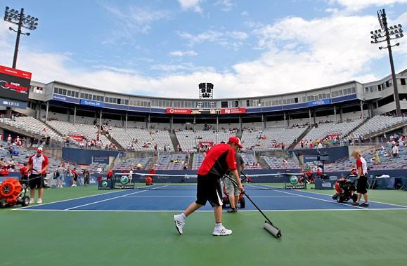 Tennis Canada souhaite rénover le stade Uniprix du... (Photo: Martin Chamberland, La Presse)