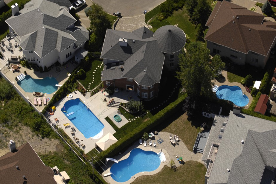 La piscine est un projet à... (Photo: Bernard Brault, Archives La Presse)