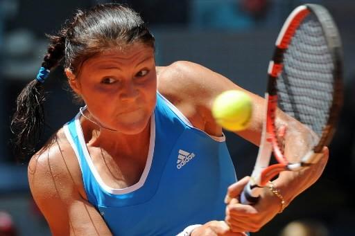 Dinara Safina estime avoir prouvé qu'elle savait très bien gérer... (Photo: AFP)