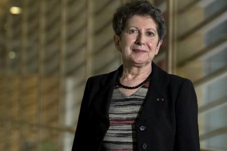La presidente de la Grande Bibliotheque du Québéc,... (Photo: Robert Skinner, La Presse)