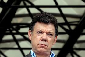 Juan-Manuel Santos... (Photo: AFP)