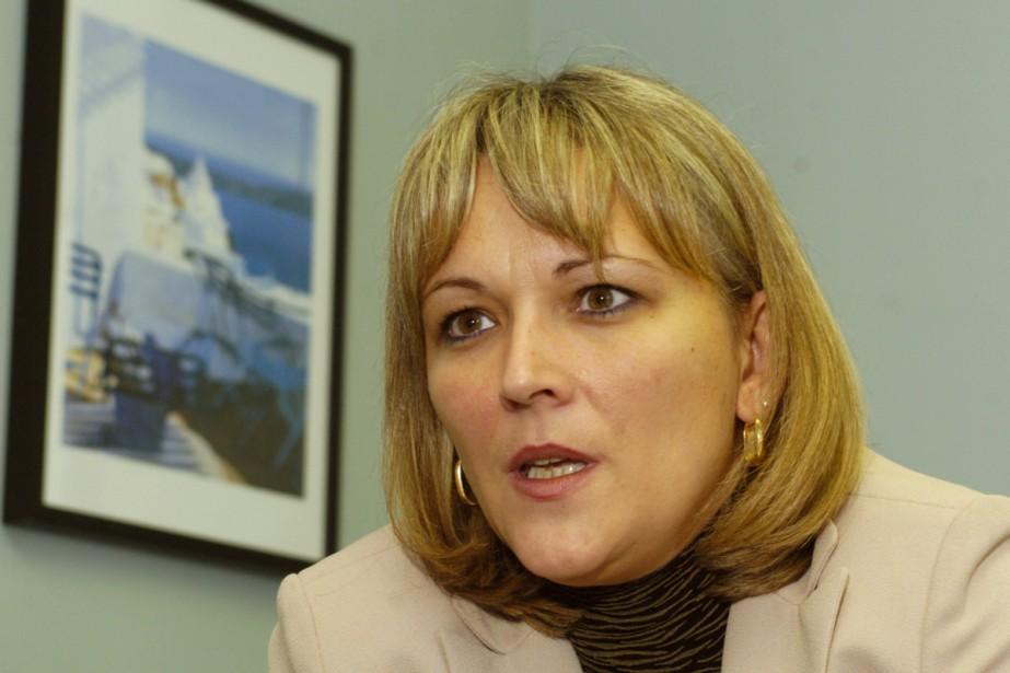 La ministre déléguée Lise Thériault.... (Archives La Presse)