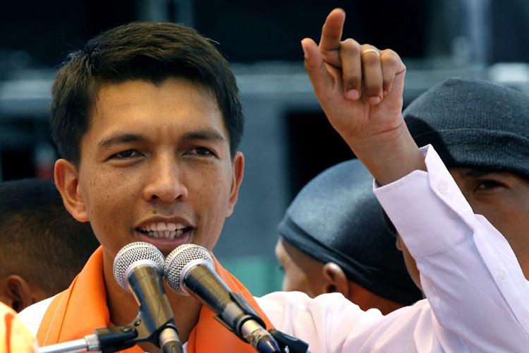 Andry Rajoelina... (Photo: AP)
