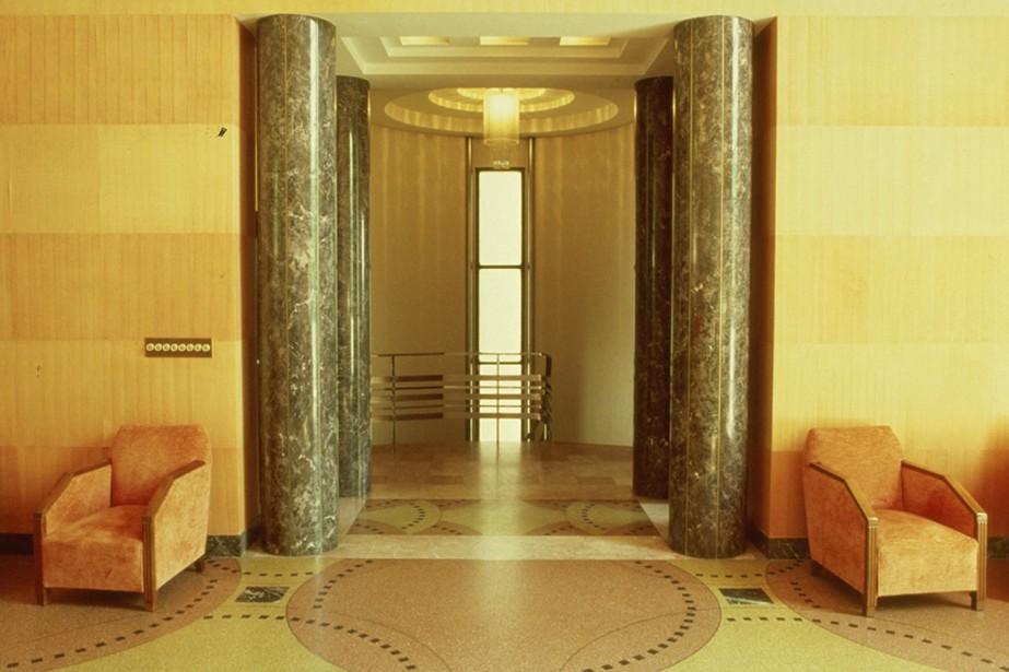 L'intérieur de la Maison Cormier, avenue des Pins.... (Photo fournie par Art Déco Montréal)