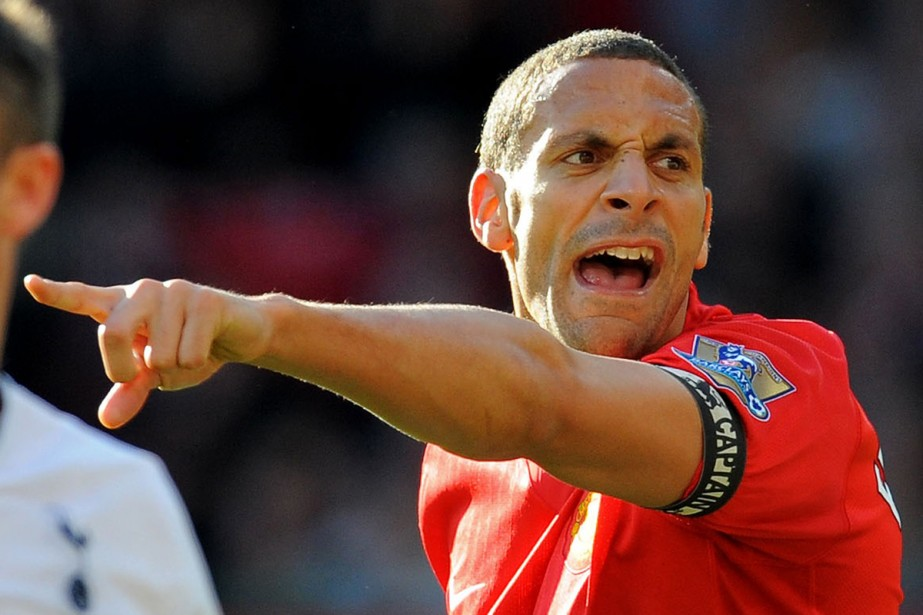 Rio Ferdinand... (Photo:  AFP)