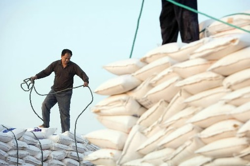 En plus de l'Inde, la Chine ( photo)... (Photo archives Bloomberg news)