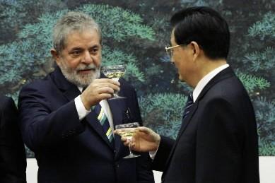 Le président du Brésil, Luiz  Inacio ... (Photo: AP)