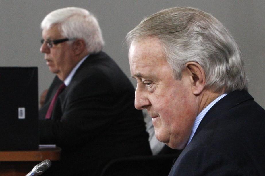 L'avocat de Brian Mulroney a demandé au commissaire Oliphant... (Photo Reuters)