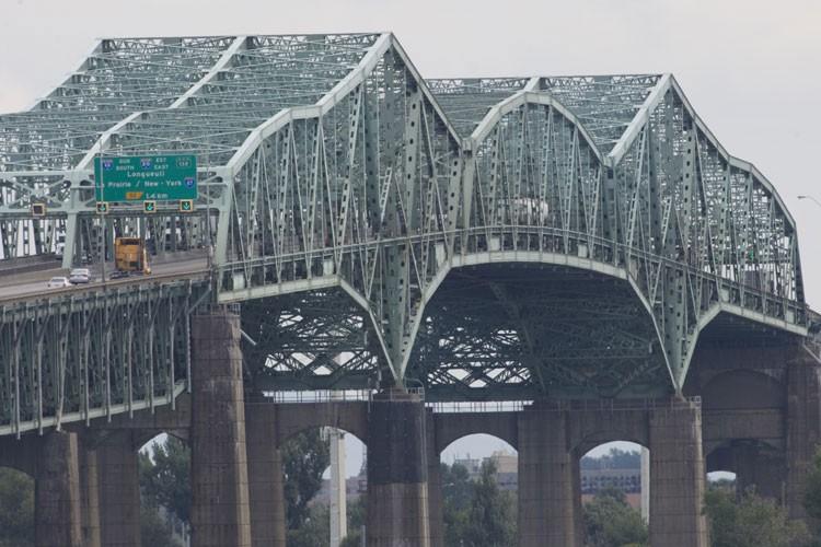 Le pont Champlain fera l'objet au cours des... (Photo: Ivanoh Demers, La Presse)