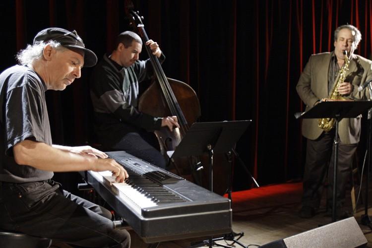 Les pionniers Pierre St-Jak (à gauche), Normand Guilbeaut... (Photo: Robert Mailloux, La Presse)