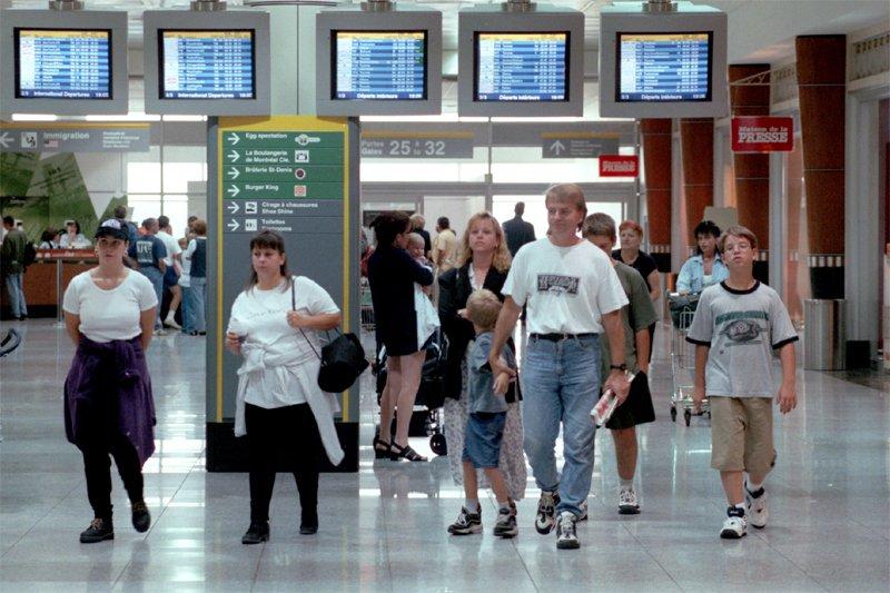 Le déficit du Canada en matière de voyages... (Photo Bernard Brault, La Presse)