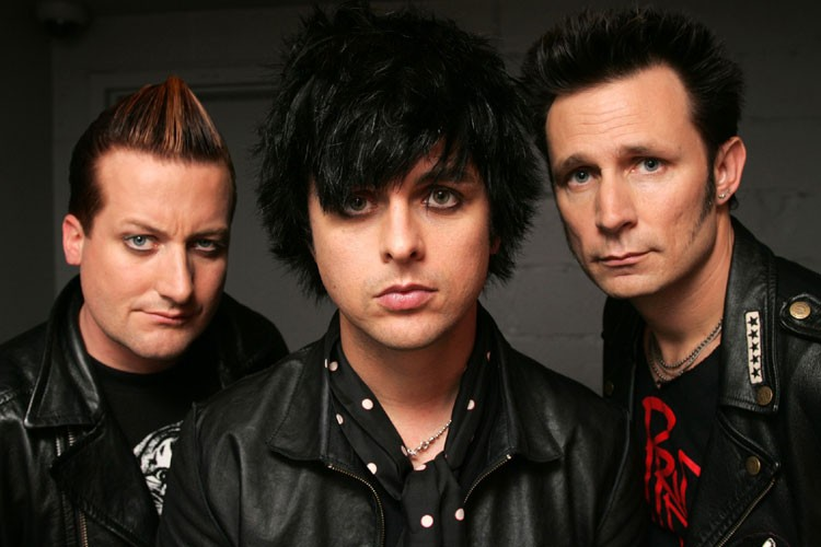 Les membres du groupe Green Day: Tre Cool,... (Photo: AP)