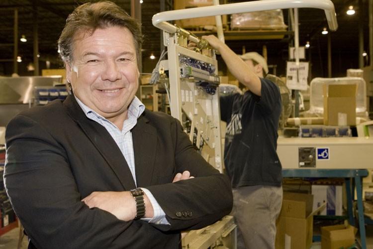 Le président et chef de la direction de... (Photo: Armand Trottier, La Presse)