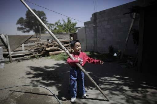 Le village de La Gloria, au Mexique, figure... (Photo AP)