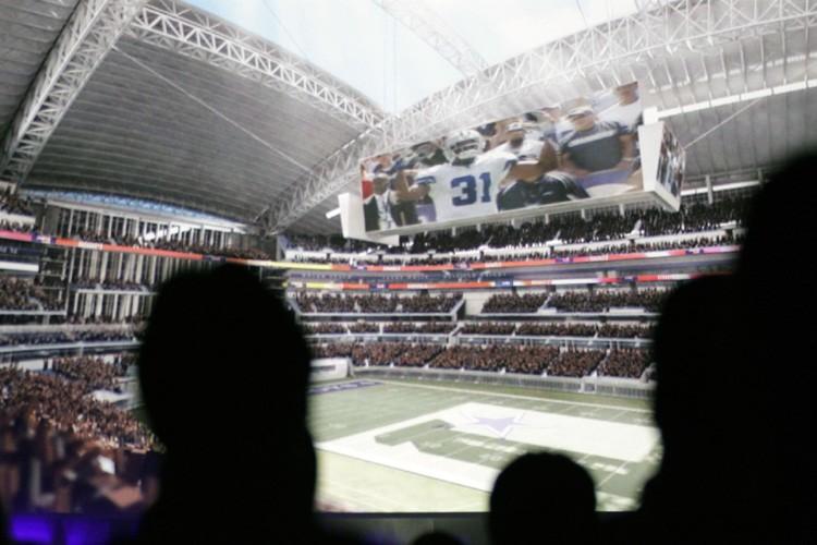 La franchise de football des Cowboys de Dallas a dévoilé jeudi... (Photo: AP)