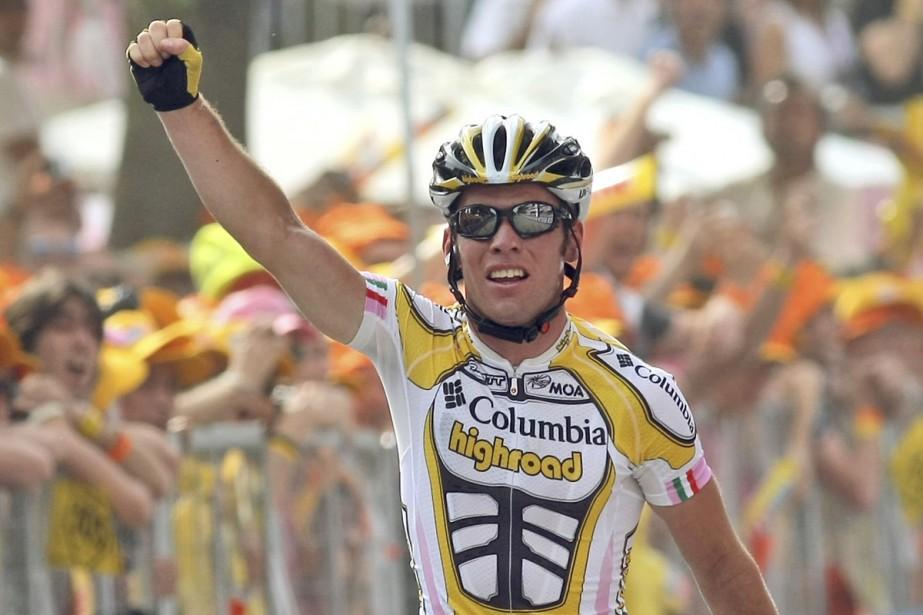 Mark Cavendish... (Photo: AP)
