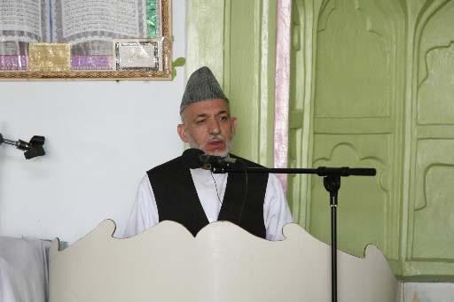 Le président Hamid Karzaï.... (Photo AFP)