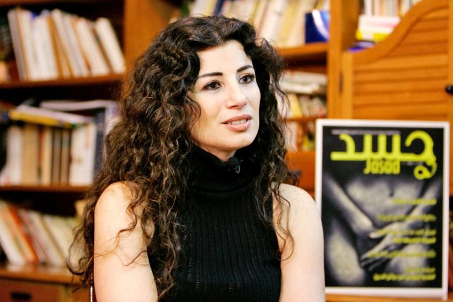 Joumana Haddad... (Photo: Reuters)