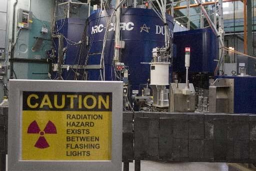 L'intérieur de la centrale nucléaire de Chalk River.... (Photo Presse Canadienne)