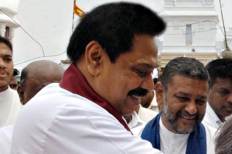 Le président sri-lankais, Mahinda Rajapaksa.... (Photo: AFP)
