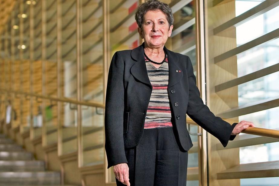 Lise Bissonnette quittera la direction de Bibliothèque et... (Photo: Robert Skinner, La Presse)