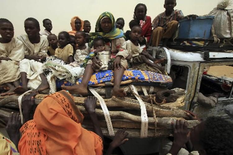 Des réfugiés de la guerre au Darfour.... (Photo: Reuters)