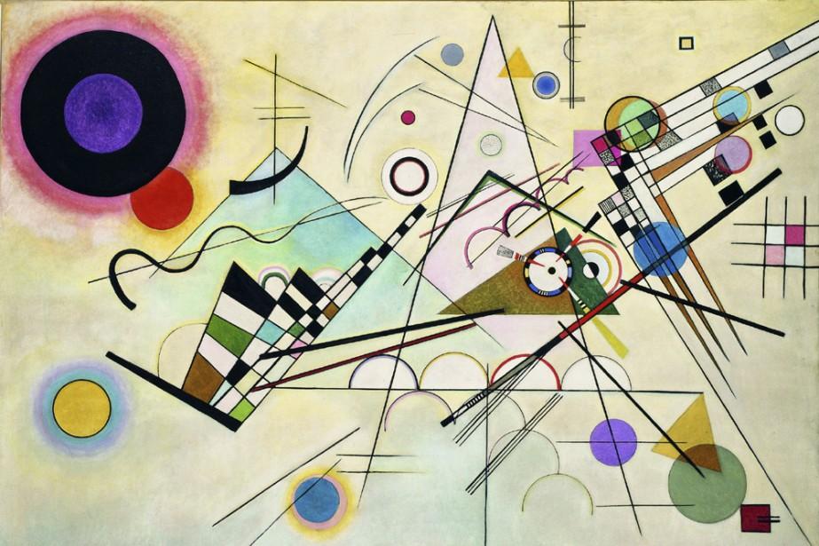 Komposition 8, 1923... (Photo: Solomon R. Guggenheim Founding Collection)