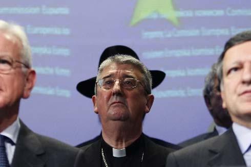 L'archevêque de Dublin, Mgr Diarmuid Martin.... (Photo Reuters)