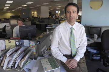 John Stackhouse, nouveau rédacteur en chef du Globe... (Photo The Globe & Mail)