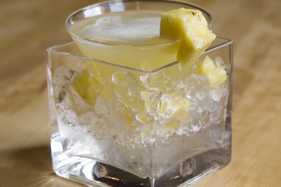 Le Spring Fever Martini... (Photo: David Boily, La Presse)