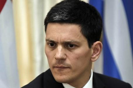 Le ministre britannique des Affaires étrangères, David Miliband... (Photo: AFP)