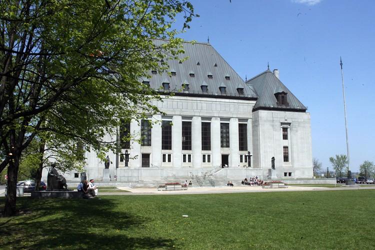La Cour suprême du Canada... (Michel Lafleur, LeDroit)
