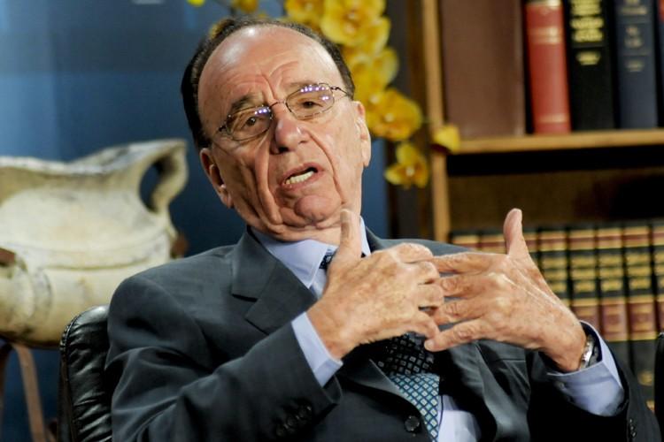 Le magnat de la presse Rupert Murdoch... (Photo: Bloomberg)