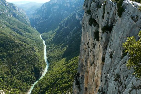 Le Verdon coule à 700 m de profondeur.... (Collaboration spéciale, Yves Ouellet)